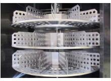 ステンレス製ターンテーブル