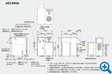 AEC600A外形図