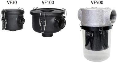 吸気フィルター VF500~3000