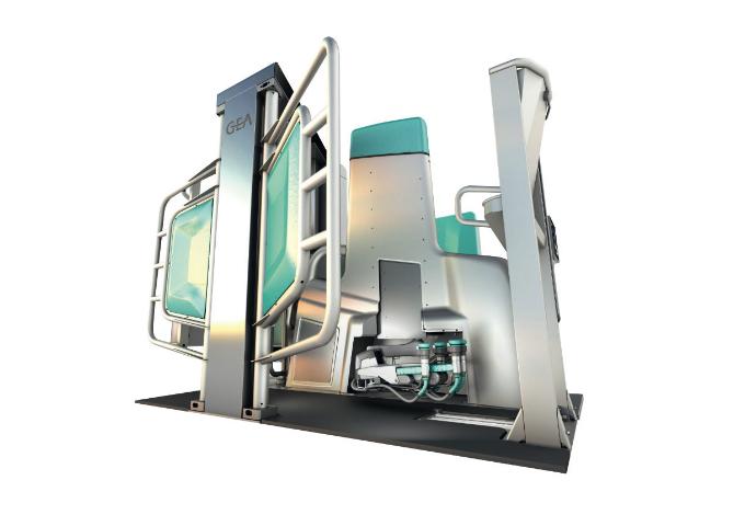 自動搾乳ロボット